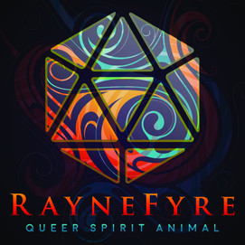 Raynefyre Business Card Front