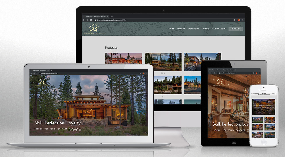 JMC Home Builder Website