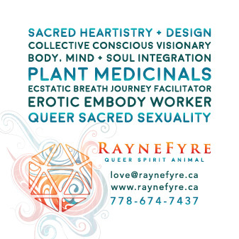 Raynefyre Business Card Back