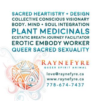 Raynefyre Business Card Back