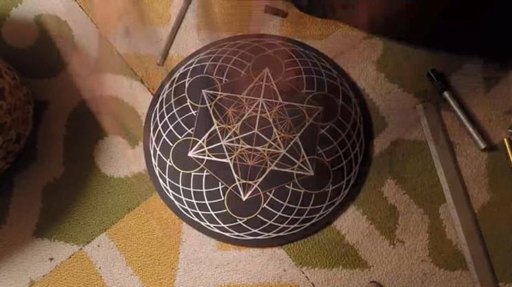 Sacred Geometry Timelapse