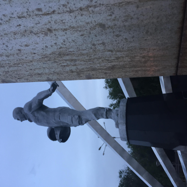 Yuri Gagarin Monument, Karaganda