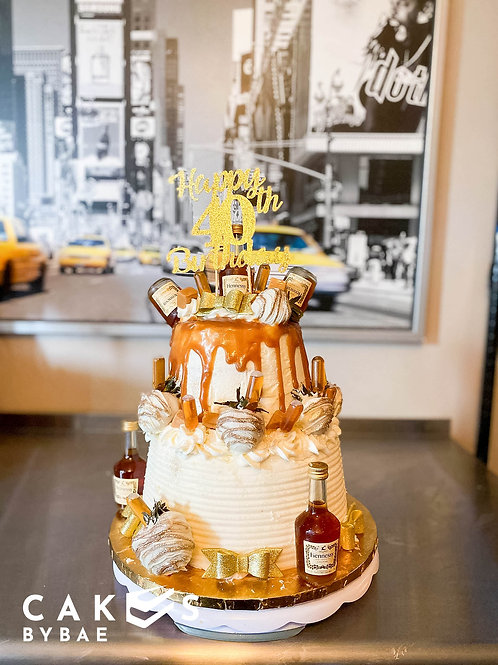 2 Tier Infused Cake