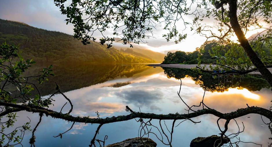 Lough Dan County Wicklow Sunset
