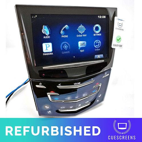 Complete Refurbished Cadillac Cue Module | Display Radio Control Unit