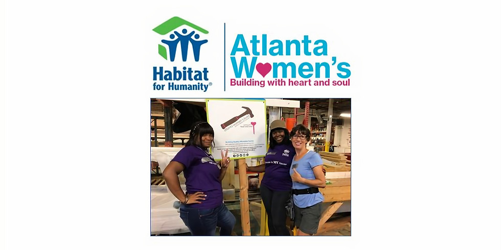 WOMEN BUILD with Habitat for Humanity