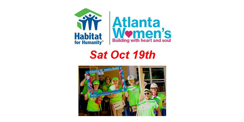 Habitat for Humanity Atlanta Women's Build