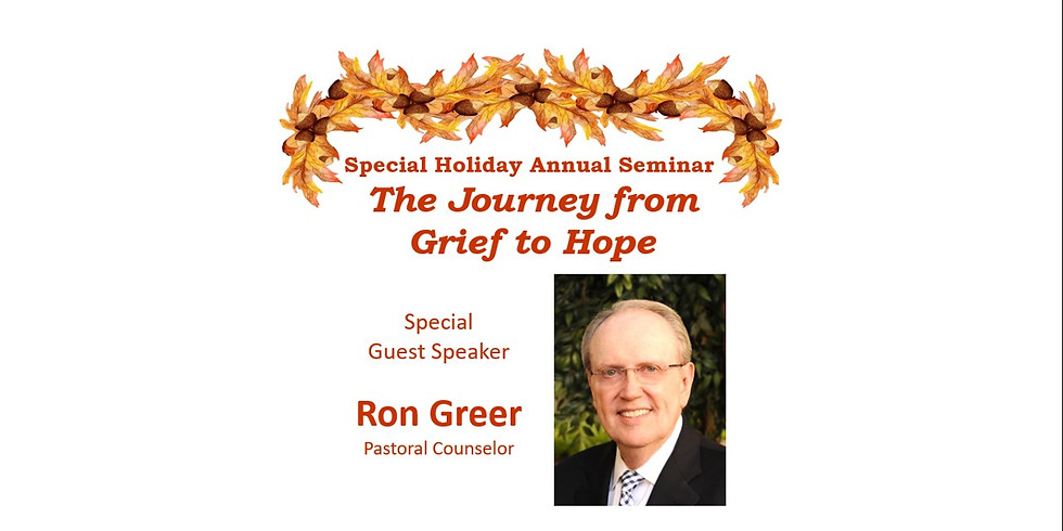 The Journey from Grief to Hope