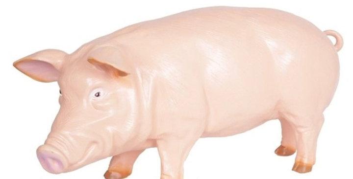 Animaux en résine Suisse - Mr cochon