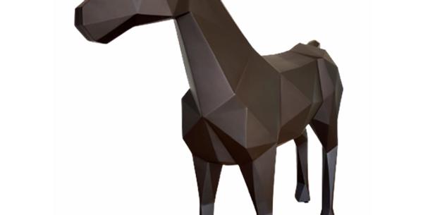 Animaux en résine Suisse - Cheval Origami