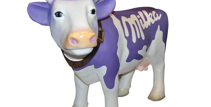 Animaux en résine Suisse - vache MILKA