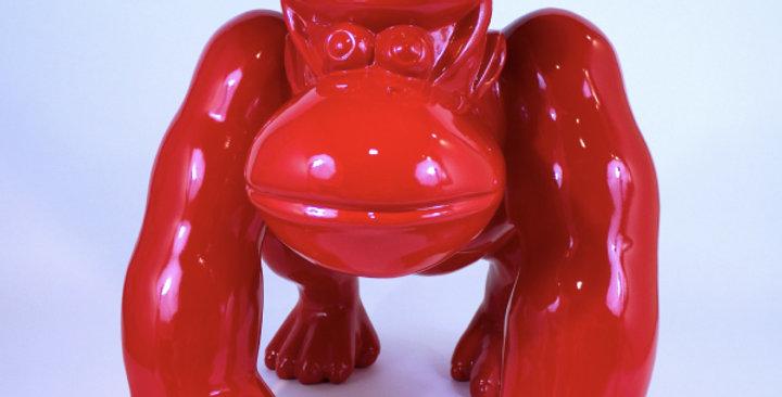 Animaux en résine Suisse - Gorille rouge
