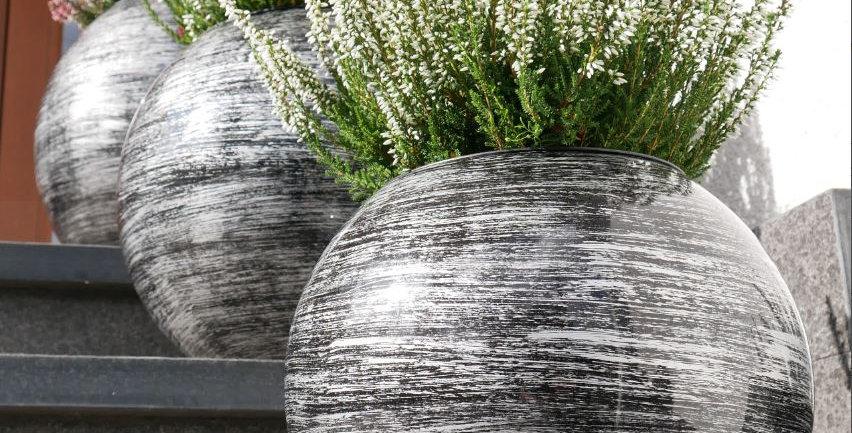 Boules Pots décoratives de ø22cm à ø60cm