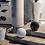 Thumbnail: Balle de Golf décorative en résine Blanche de 30cm de diamètre