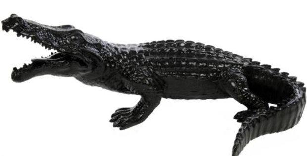 Animaux en résine Suisse - Crocodile
