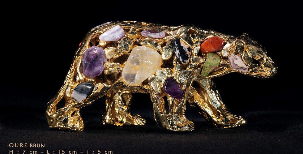 Animaux en résine Suisse - Ours brun