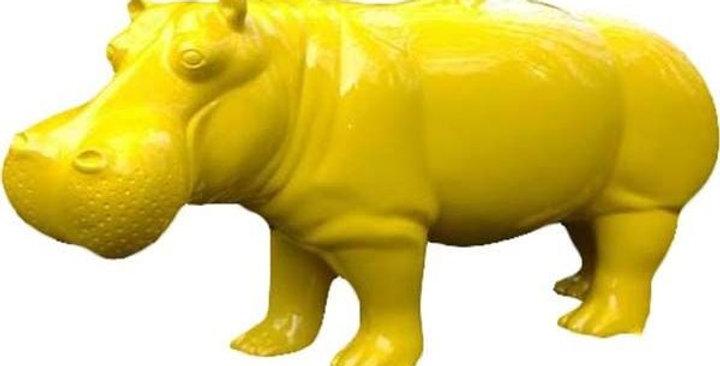 Animaux en résine Suisse - Hippopotame
