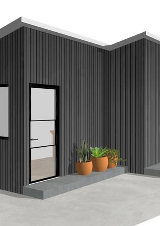 日式鋼構鐵皮屋