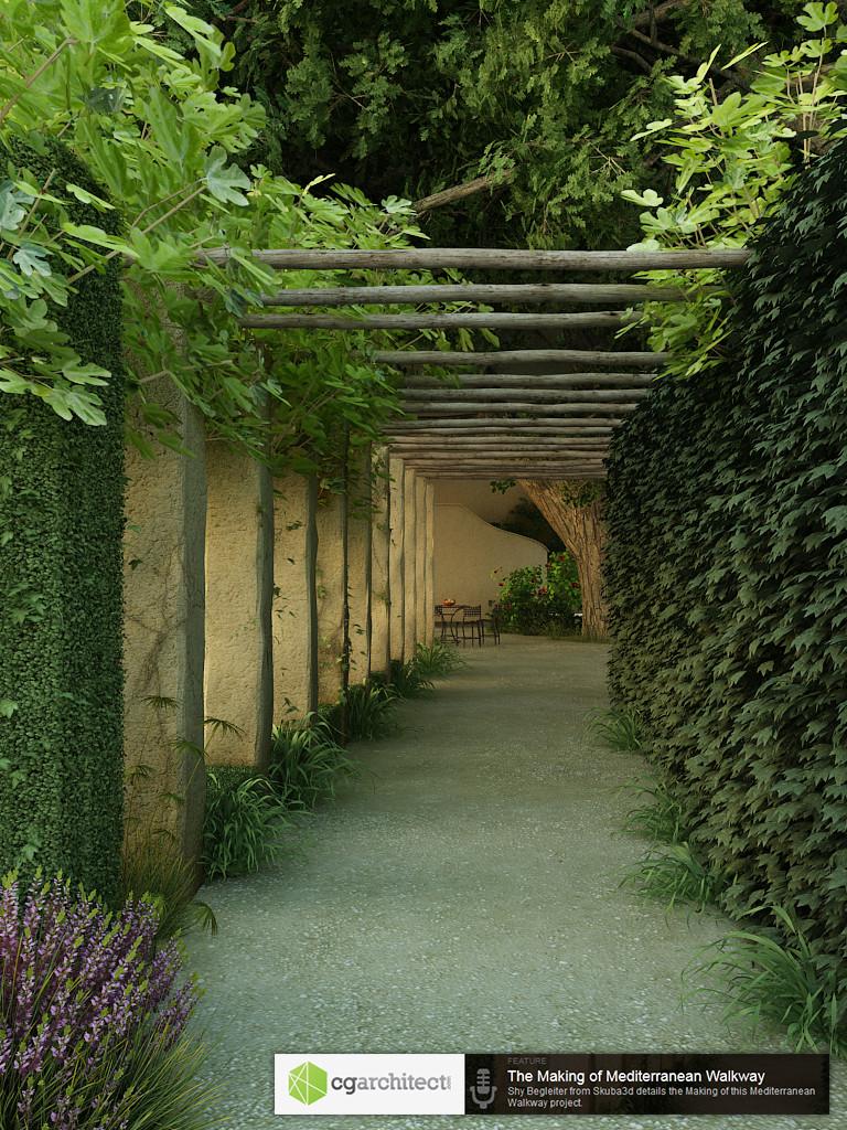 Mediterranean Walkway