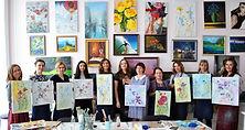 тематические мастер-классы живописи маслом