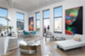 9. Living Area (Penthouse) - West View.j