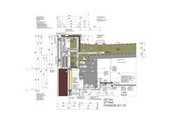Detail Attika Fassade M 1_10 Stand ab 18