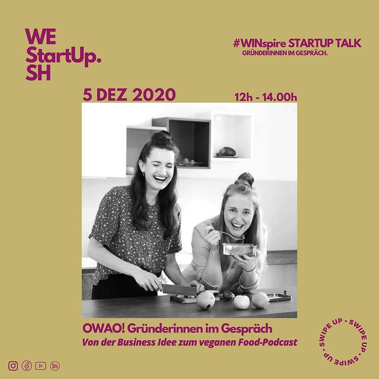 #WINspire Talk mit OWAO! Gründerinnen Svenja und Isabell