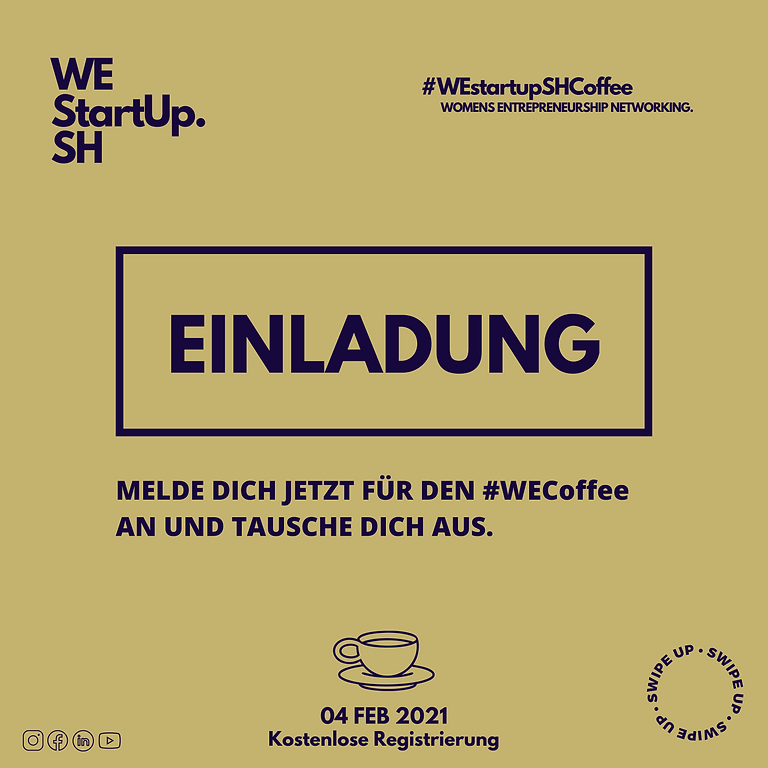 WEstartupCoffee - Dein Start in den Morgen
