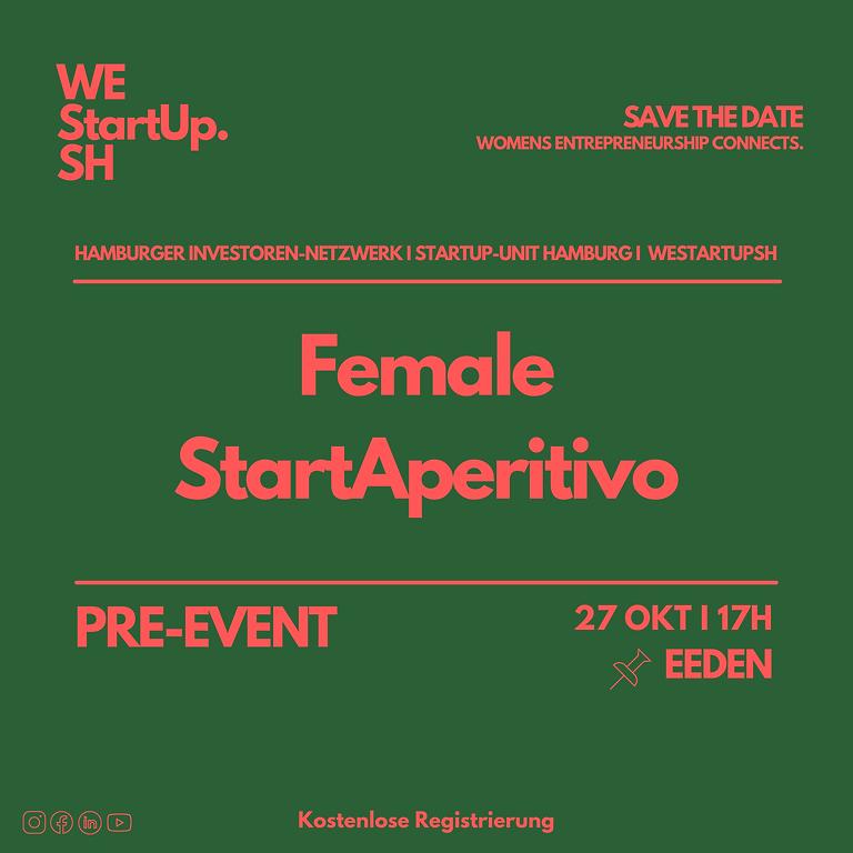 »Female StartAperitivo« | Pre-Event