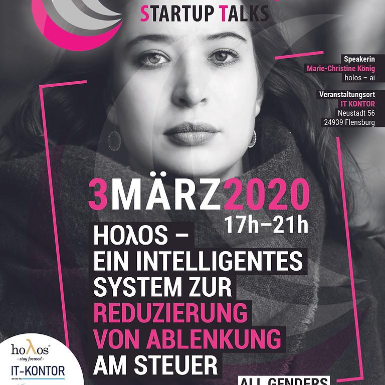 #WINspire Startup Talk FLENSBURG mit Marie-Christine König