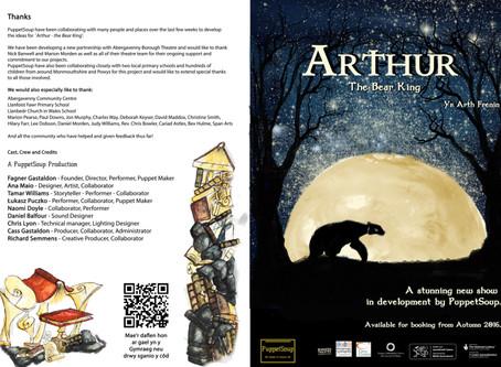Arthur the Bear King leaflets – English Language