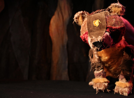 COUNTDOWN TO SHOWBACK FOR NEW PUPPET SHOW ARTHUR THE BEAR KING!: Blog post by Tamar