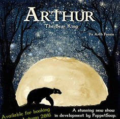 "Arthur The Bear KIng ""Yn Arth Frenin"""