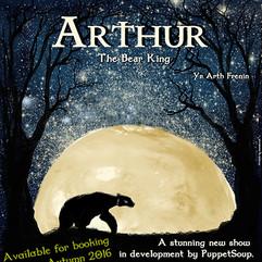 """Arthur The Bear KIng """"Yn Arth Frenin"""""""