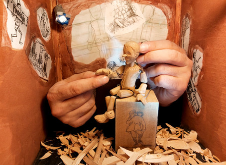 Teatro Lambe Lambe Puppetry Group Course Online Group Course suitable for USA, Canada and UK times!
