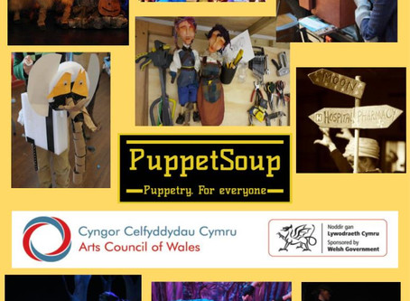 PuppetSoup Receives The Cultural Recovery Fund