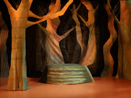 Devising in the magic realm for the puppetry production of Arthur. Blog post by Naomi.