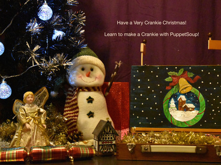 Have a very 'Crankie Christmas' and learn to make a moving panorama with PuppetSoup!