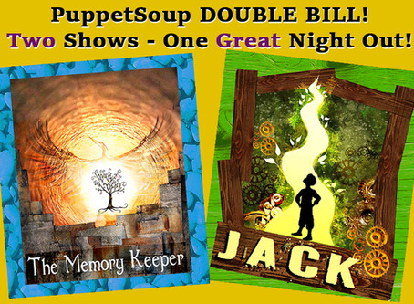 New! PuppetSoup Double Bill available for booking NOW!
