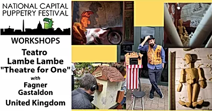PuppetSoup at USA National Capital Puppetry Festival
