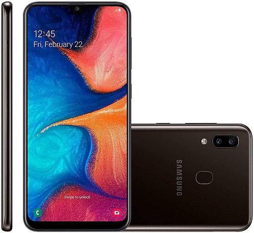 Samsung Galaxy A20 32GB Black Unlocked Mobile Phone