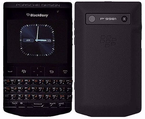 BOXED SEALED Blackberry P'9981 Porsche Design 8GB (Black) Unlocked