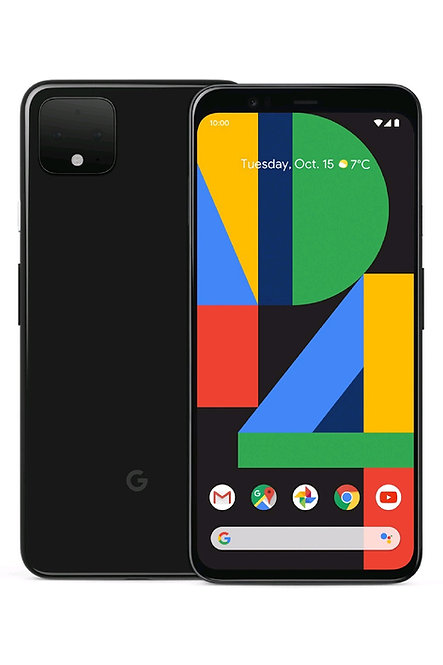 Unlocked Google Pixel 4 64GB Black mobile in Discount Price