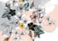WWF Botanical Blossom Print Erin Donohoe