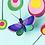 Thumbnail: Décoration murale 3D PAPILLON petite taille
