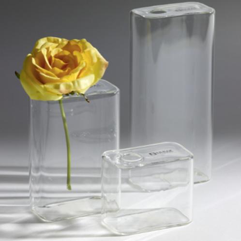 Set de 3 vases en verre Serax