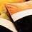 Thumbnail: Coussin Harmony en velours et lin 55X110
