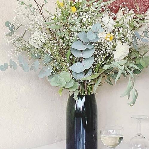 Vase Q de bouteilles magnum champagne