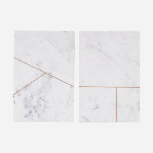 Planche de découpe en marbre
