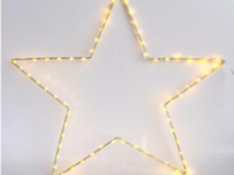 Guirlande Star dorée